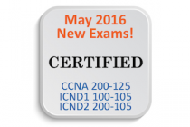 Cisco's Pages about the New (May 2016) CCNA R&S Exams